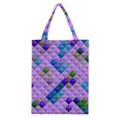 Mosaic & Co 01b Classic Tote Bags by MoreColorsinLife