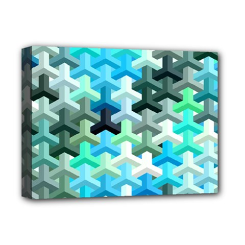 Mosaic & Co 02a Deluxe Canvas 16  X 12   by MoreColorsinLife