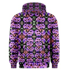 Purple Green Flowers With Green Men s Zipper Hoodies by Costasonlineshop