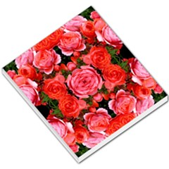 Beautiful Red Roses Small Memo Pads by Costasonlineshop