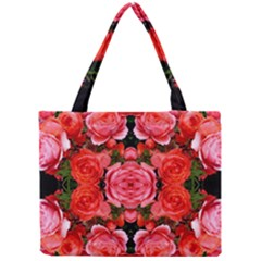 Beautiful Red Roses Tiny Tote Bags by Costasonlineshop