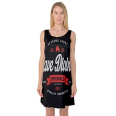Cave Diving Extreme Sport Sleeveless Satin Nightdresses by ExtremeSport