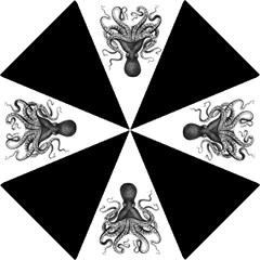 Vintage Octopus Folding Umbrellas by waywardmuse
