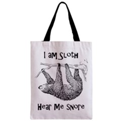 Sloth Classic Tote Bags by waywardmuse