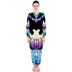 Space Cosmos Black Blue White Red Onepiece Jumpsuit (ladies)  by Costasonlineshop
