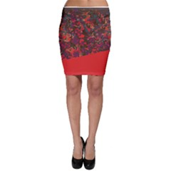 Camouflage 2 Bodycon Skirt by Wanni