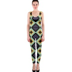 Pixelated Pattern Onepiece Catsuit by LalyLauraFLM
