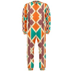Rhombus Triangles And Other Shapes Onepiece Jumpsuit (men)