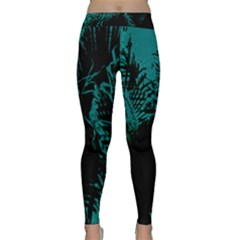 Palm Designs Yoga Leggings by timelessartoncanvas