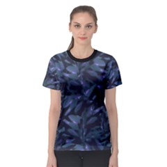 Tropical Dark Patterned Women s Sport Mesh Tees by dflcprintsclothing