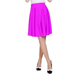 Trendy Purple  A Line Skirt by Costasonlineshop