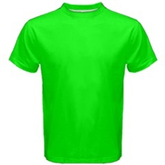 Cool Green Men s Cotton Tee by Costasonlineshop