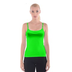 Cool Green Spaghetti Strap Top by Costasonlineshop