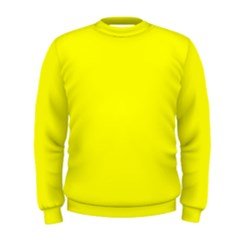 Beautiful Yellow Men s Sweatshirt by Costasonlineshop