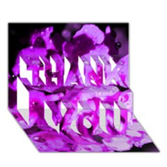Dsc 01176665652 Thank You 3d Greeting Card (7x5)  by timelessartoncanvas