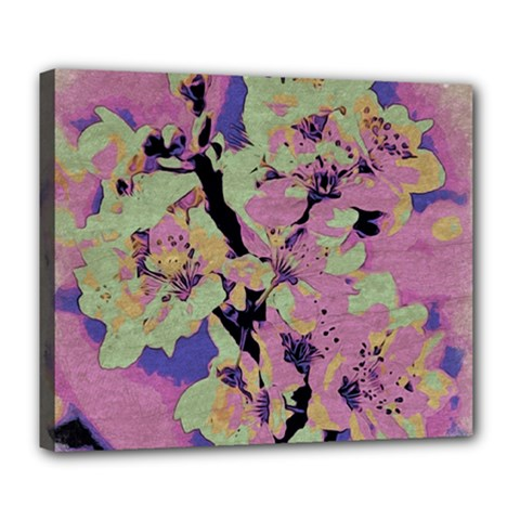 Floral Art Studio 12216 Deluxe Canvas 24  X 20   by MoreColorsinLife
