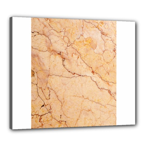 Stone Floor Marble Canvas 24  X 20  by essentialimage