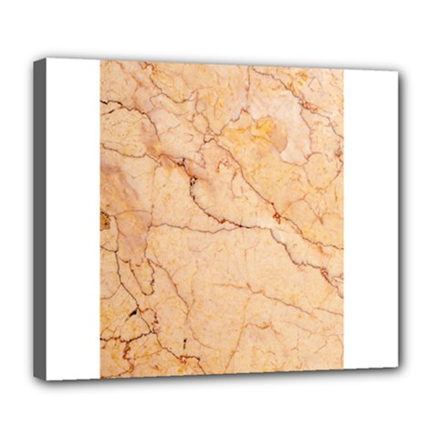 Stone Floor Marble Deluxe Canvas 24  X 20   by essentialimage