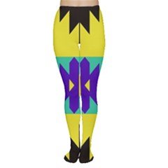 Tribal Design Tights by LalyLauraFLM