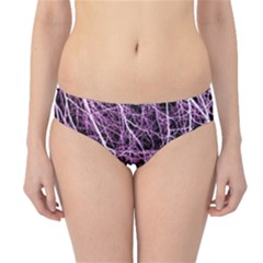 Purple Twigs Hipster Bikini Bottoms by timelessartoncanvas