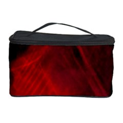 Red Abstract Cosmetic Storage Cases by timelessartoncanvas
