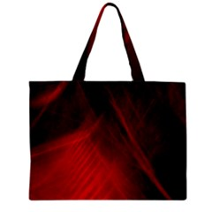 Red Abstract Zipper Tiny Tote Bags by timelessartoncanvas