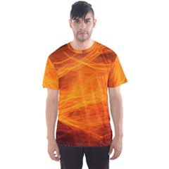 Orange Wonder Men s Sport Mesh Tee by timelessartoncanvas