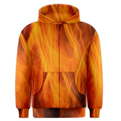 Orange Wonder 2 Men s Zipper Hoodie