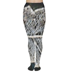 Modern Leaf Women s Tights by timelessartoncanvas
