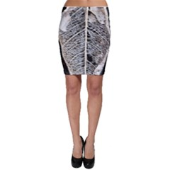 Modern Leaf 2 Bodycon Skirts by timelessartoncanvas