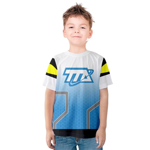 Miles From Tomorrowland Kid s Cotton Tee (with Shoulder Detail) by rocketmommy