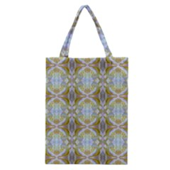 Beautiful White Yellow Rose Pattern Classic Tote Bags by Costasonlineshop