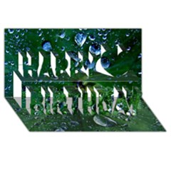 Morning Dew Happy Birthday 3d Greeting Card (8x4)  by Costasonlineshop