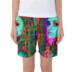 Alice In Wonderland Women s Basketball Shorts by icarusismartdesigns