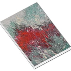 Metallic Abstract 2 Large Memo Pads by timelessartoncanvas
