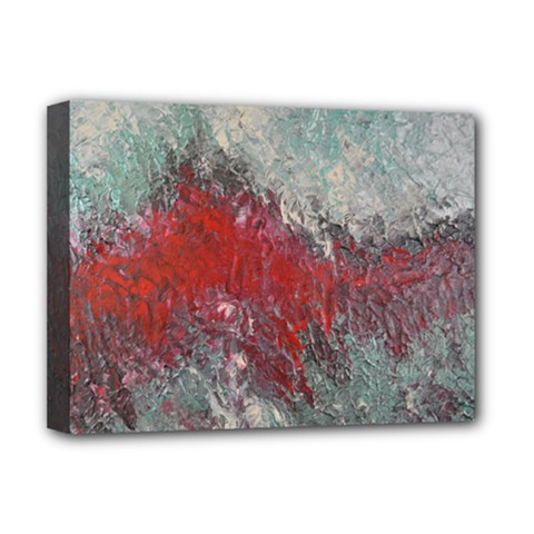 Metallic Abstract 2 Deluxe Canvas 16  X 12   by timelessartoncanvas