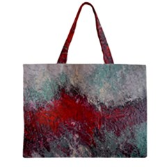 Metallic Abstract 2 Zipper Tiny Tote Bags by timelessartoncanvas