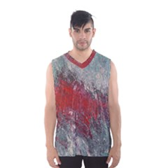 Metallic Abstract 2 Men s Basketball Tank Top by timelessartoncanvas