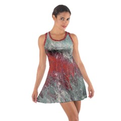 Metallic Abstract 2 Racerback Dresses by timelessartoncanvas