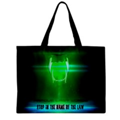 Stop In The Name Of The Law Zipper Tiny Tote Bags by RespawnLARPer