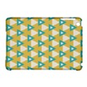White blue triangles pattern 			Apple iPad Mini Hardshell Case (Compatible with Smart Cover) View1