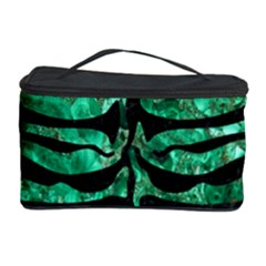 Skin2 Black Marble & Green Marble Cosmetic Storage Case