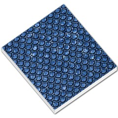 Scales2 Black Marble & Blue Marble Small Memo Pads by trendistuff