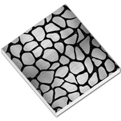 Skin1 Black Marble & Silver Brushed Metal Small Memo Pads