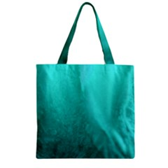 Floating Zipper Grocery Tote Bag by timelessartoncanvas