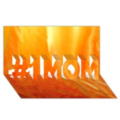 Floating Orange And Yellow #1 Mom 3d Greeting Cards (8x4)  by timelessartoncanvas