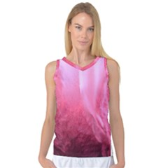 Floating Pink Women s Basketball Tank Top by timelessartoncanvas