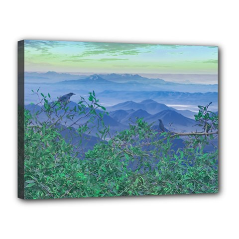 Fantasy Landscape Photo Collage Canvas 16  X 12  by dflcprints