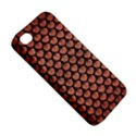 SCALES3 BLACK MARBLE & COPPER BRUSHED METAL (R) Apple iPhone 4/4S Premium Hardshell Case View5