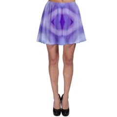 Beautiful Blue Purple Pastel Pattern, Skater Skirt by Costasonlineshop
